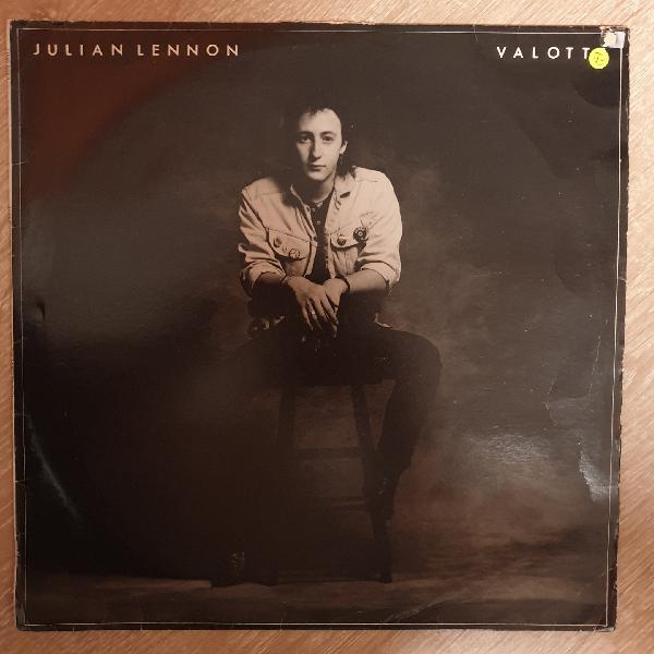 Julian lennon - valotte - vinyl lp record - opened -