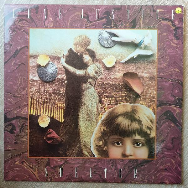 Love justice - shelter - vinyl lp record - very-good+