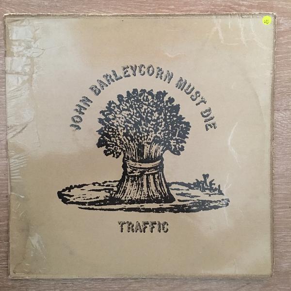 Traffic john barleycorn must die - vinyl lp record - opened