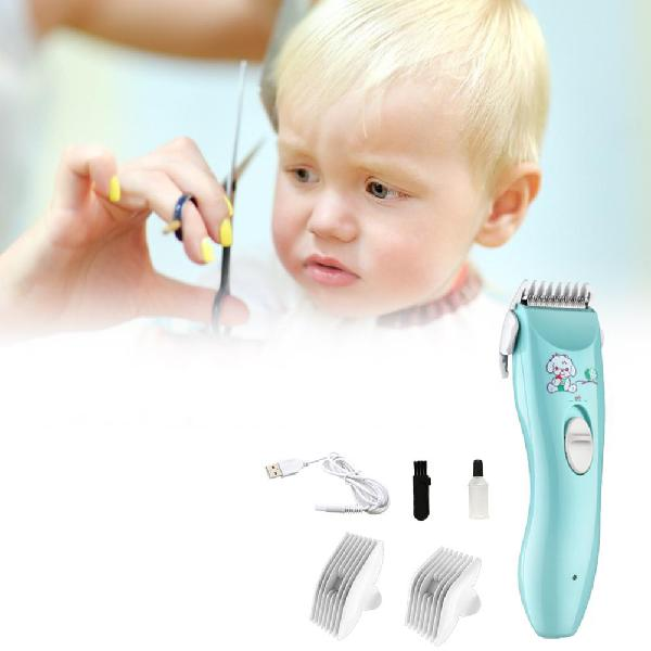 Baby electric hair trimmer usb waterproof haircut trimmer