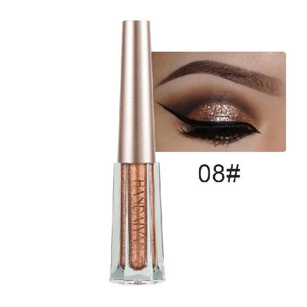Handaiyan 12 colors diamond glitter liquid eye