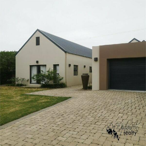 Home to rent in de wijnlanden residential estate