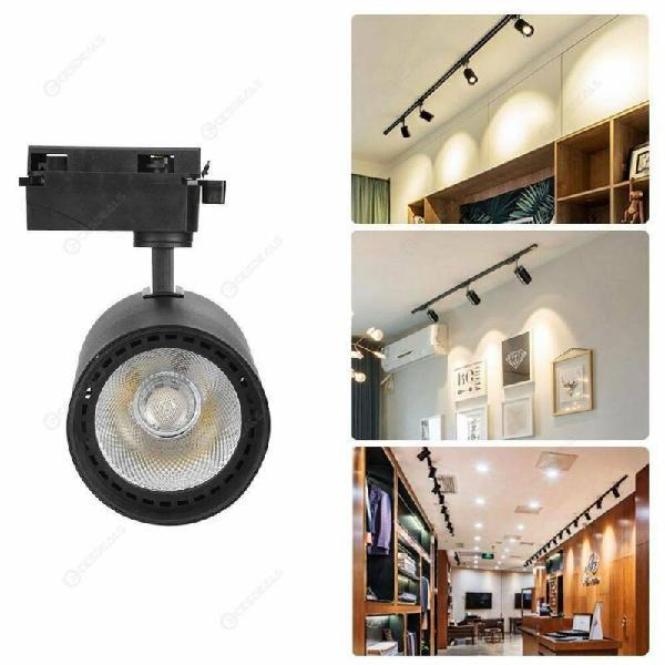 Led track lamp aluminum store office home spotlight hardware