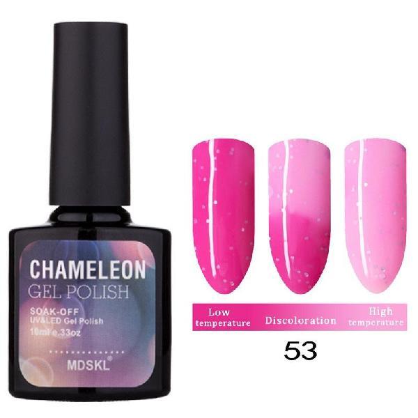 Magical temperature change nail gel polish tasteless long