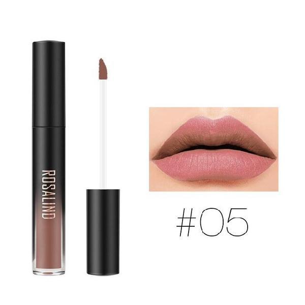 Rosalind matte lipgloss liquid lipstick velvet pearl long