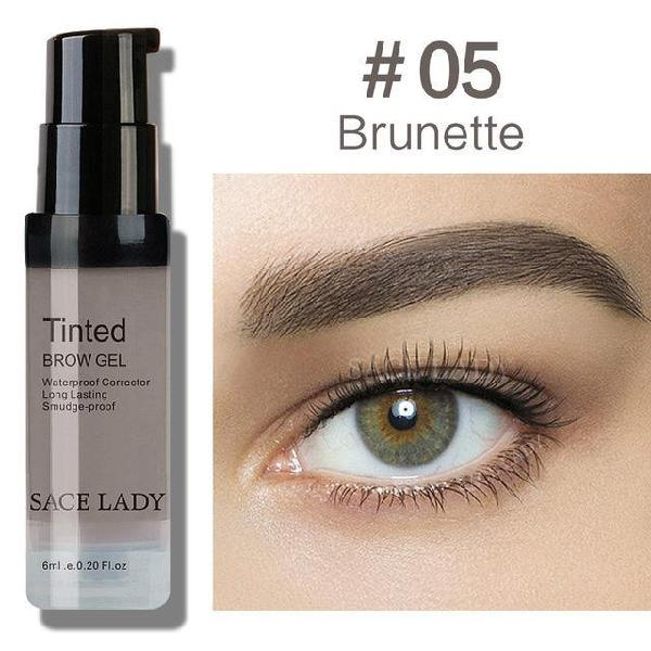 Sace lady tinted eyebrow gel long lasting waterproof brow