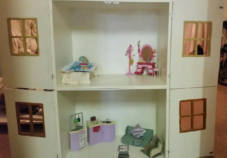 Dolls House including Furniture for Sale