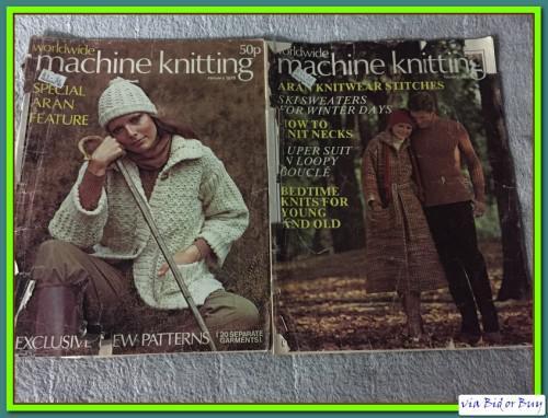 Vintage patterns e (2 books) - worldwide knitting for hand
