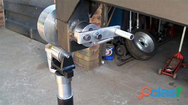 ENGLISH WHEEL (Wheeling Machine) – BENCH TOP UNIT 1