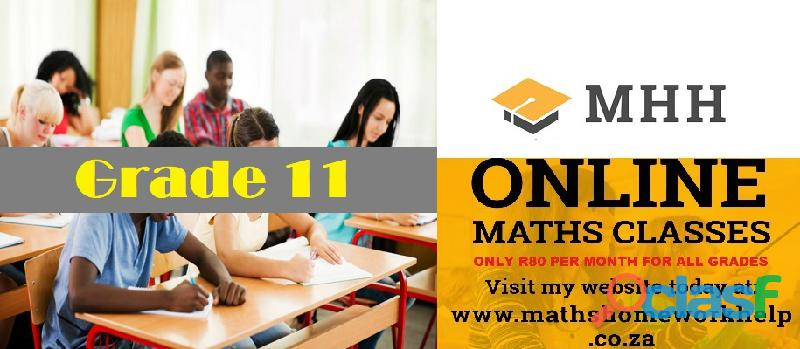 Online Maths classes tuition lessons for grade 9 to grade 12 2