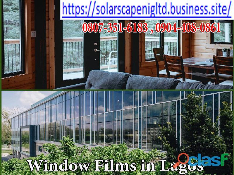 Window Films in Abuja