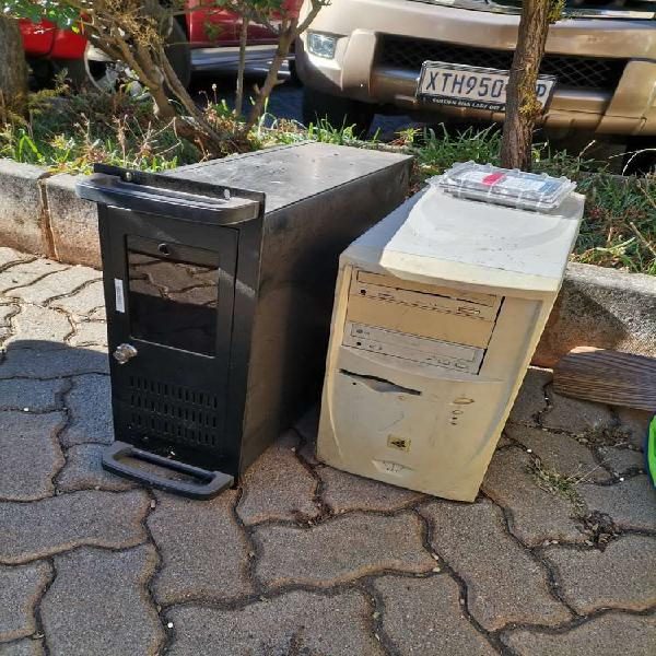 2 PCs, and screen