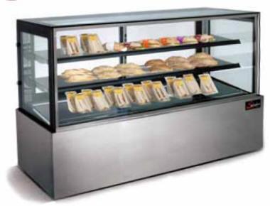Display unit fridge - f/stand cappi 900mm salvadore dfc7900
