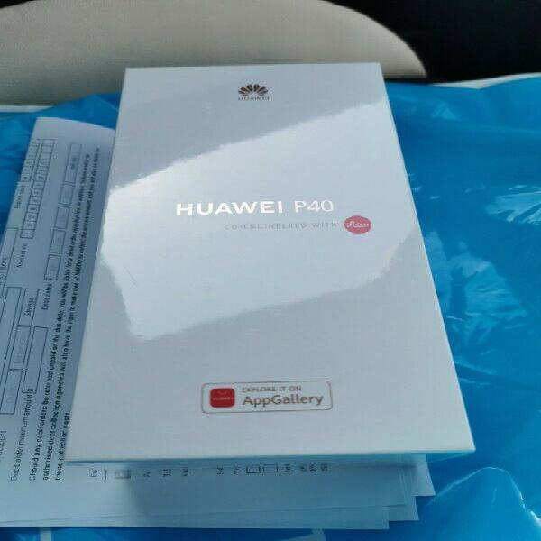 Huawei P40 Frost Silver Sealed in the box