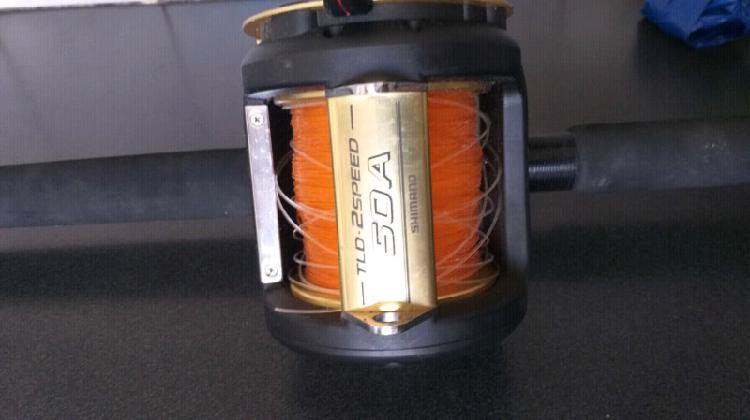 New condition reel retails R3900 Rod retails R4200 Phone