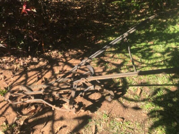 Plough cast iron