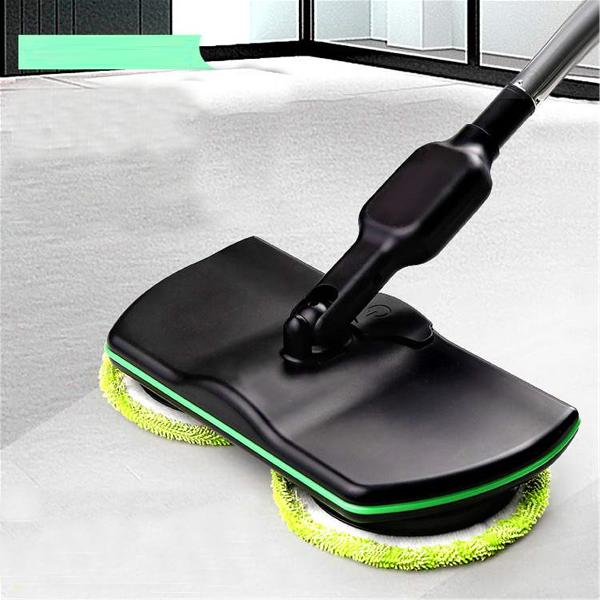Wireless Rotary Electric Rechargeable Floor Mop Home Cleaner
