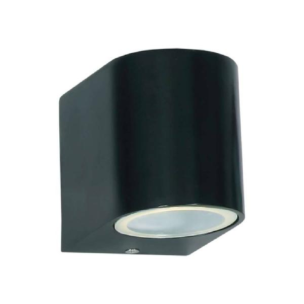 Bright star l158 black outdoor wall light with down facing