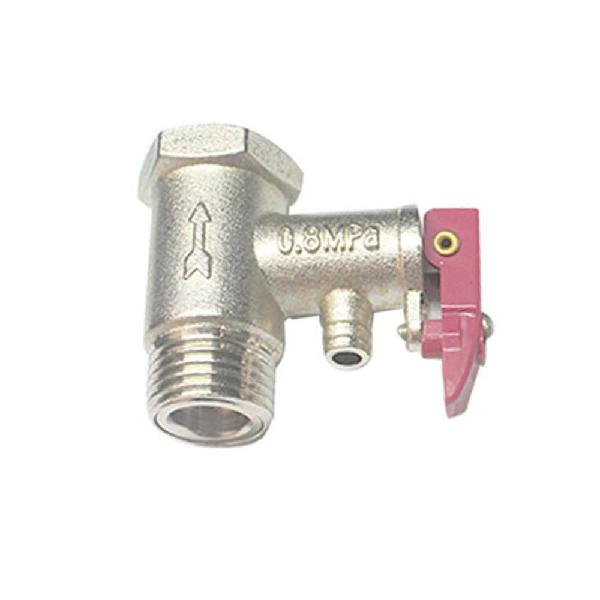 G1/2 brass spring type safety valve electric water heater