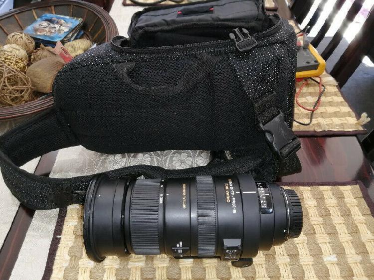 Photographers bargain ! sigma 50-500 telephoto lens for