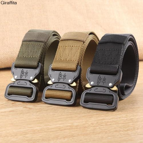 Tactical hunting accessories tactical gear heavy duty belt