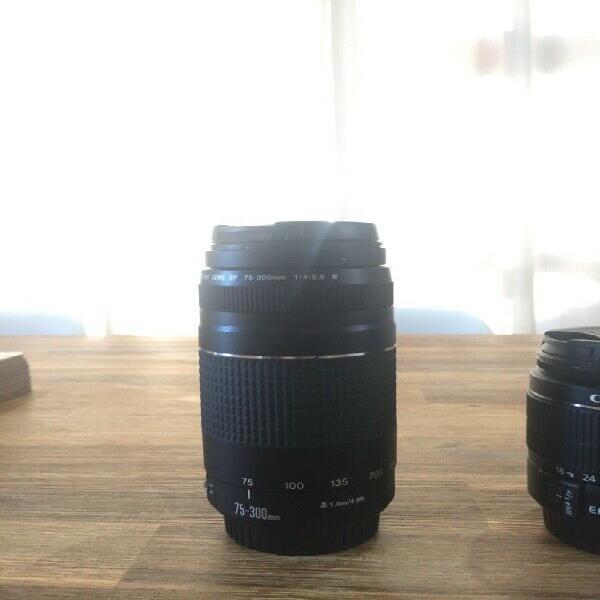2000d canon triple lenses for sale
