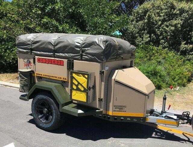 2016 conqueror courage off-road camper (many extras)