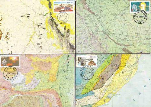 South africa rsa - 1984 - strategic minerals - complete set
