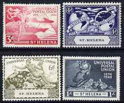 St helena 1949 kg6 75th anniversary of universal postal