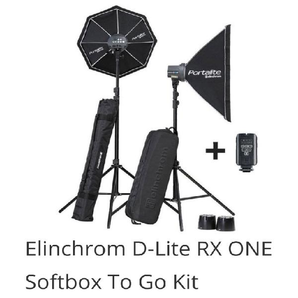 Used)studio lighting: d-lite rx one