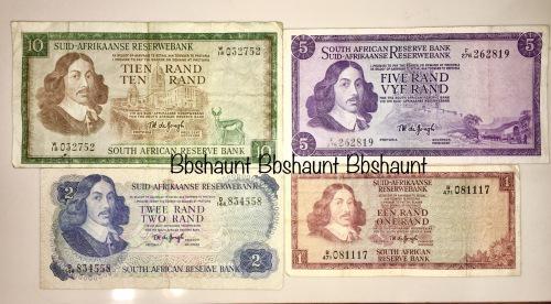 Complete set of tw de jong & decimals r10 replacement note