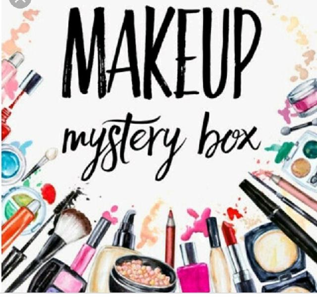 Mystery makeup goodie box/bag