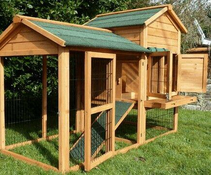 Quality rabbit $ guinea pig hutch for sale