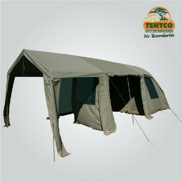 3x3m ripstop dome tent and 2x extentions