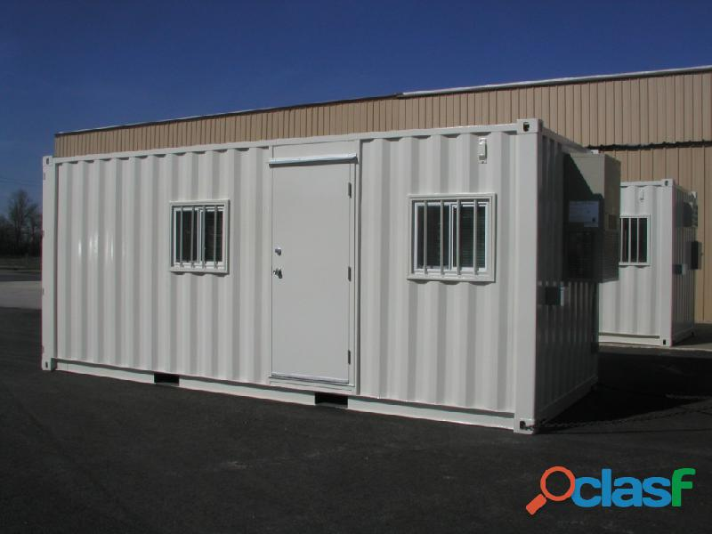 "6"" METER (20Ft) PORTABLE OFFICE CONTAINERS"