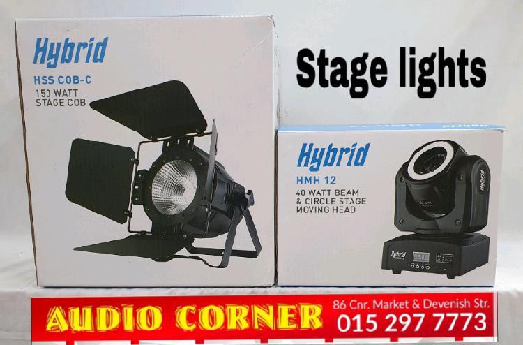 Hybrid lights stage spot moving head