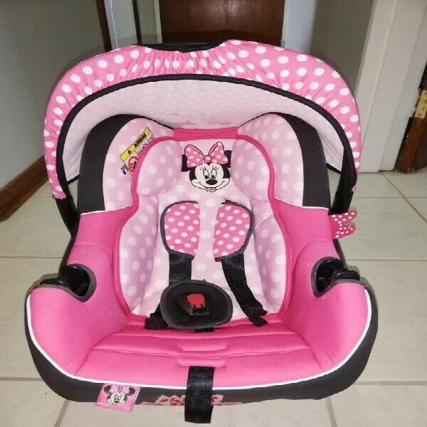 Minnie mouse baby car chair