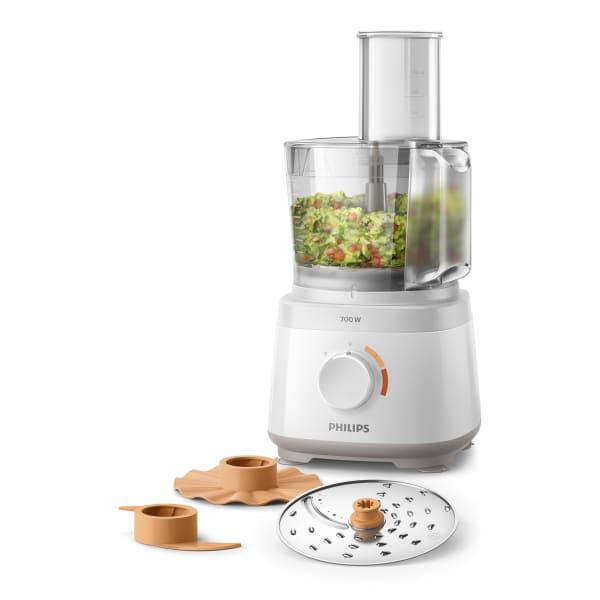 Philips daily collection 16 function compact food processor,