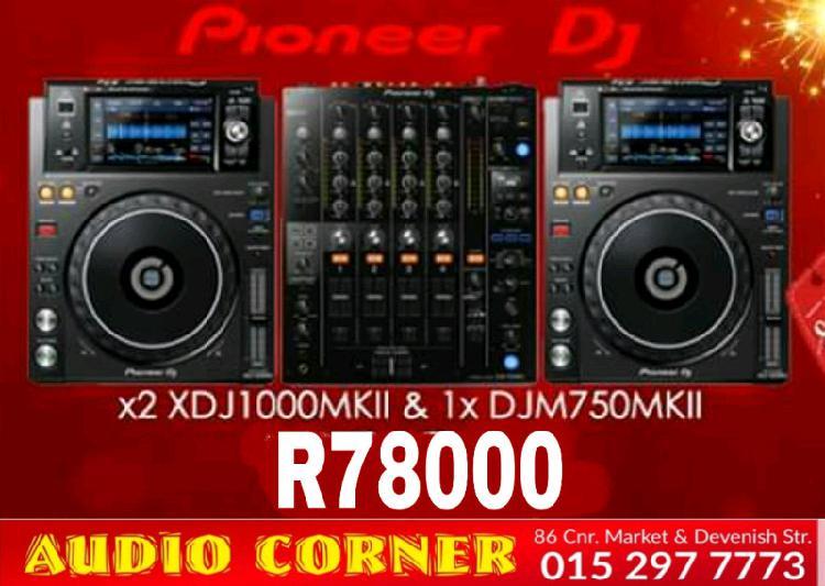 Pioneer cdj mixer combo new