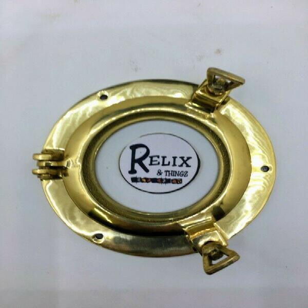 Small brass porthole