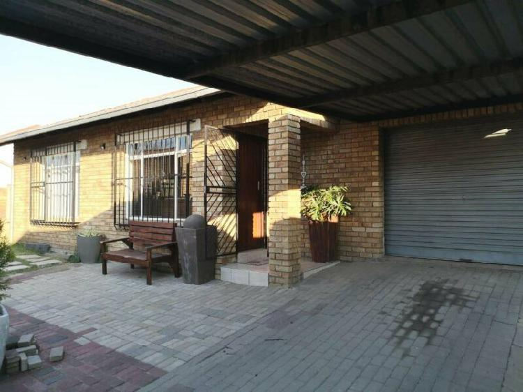 Two bedroom home for sale in secunda.