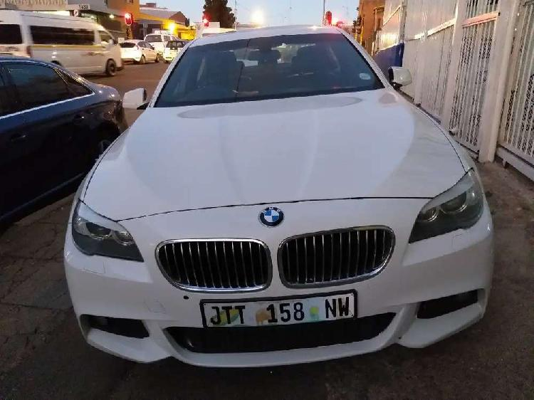 2013 bmw 5series 520d m-sport automatic