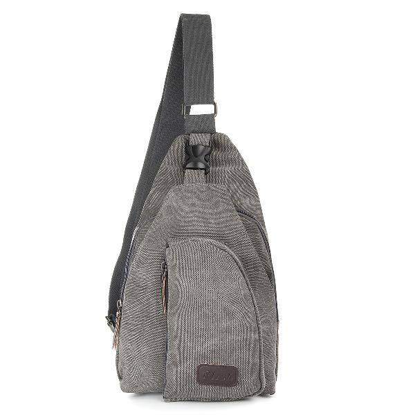 Canvas chest bag christmas gifts outdoor sport camping