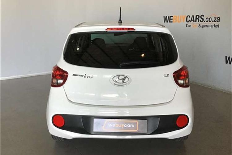 Hyundai grand i10 1.25 fluid a/t 2018