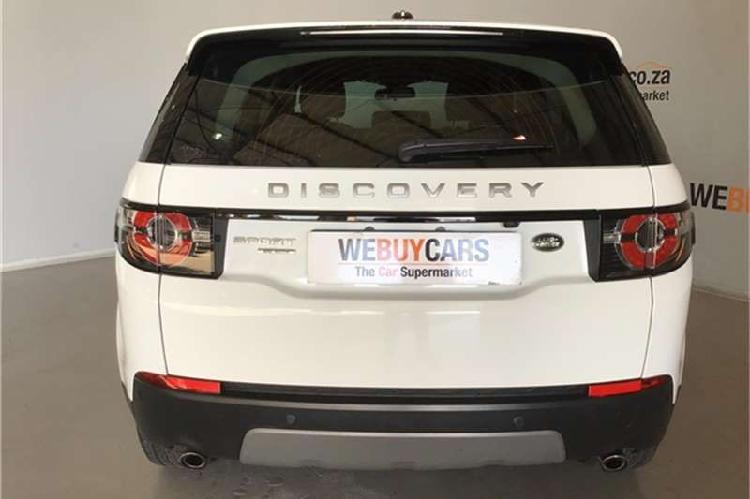 Land rover discovery sport se sd4 2015