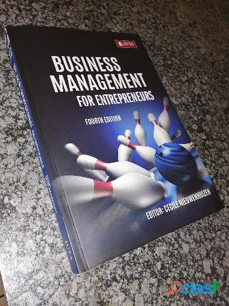 Business management textbook for sale