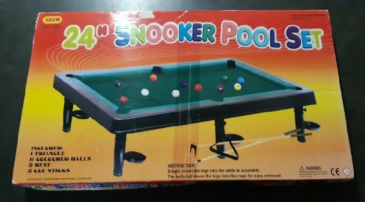 """24"""" kids pool table set."""