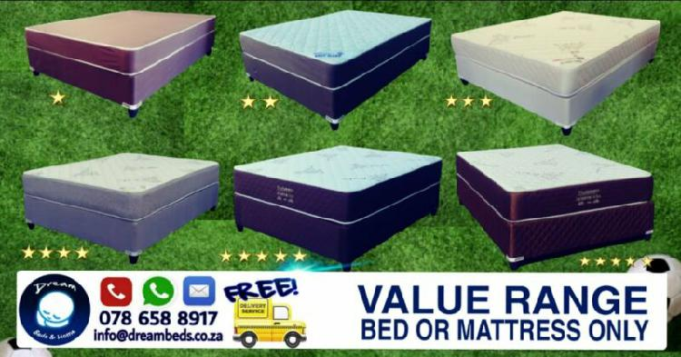 Beds for sale - free delivery from r1649 to r5799 brand new
