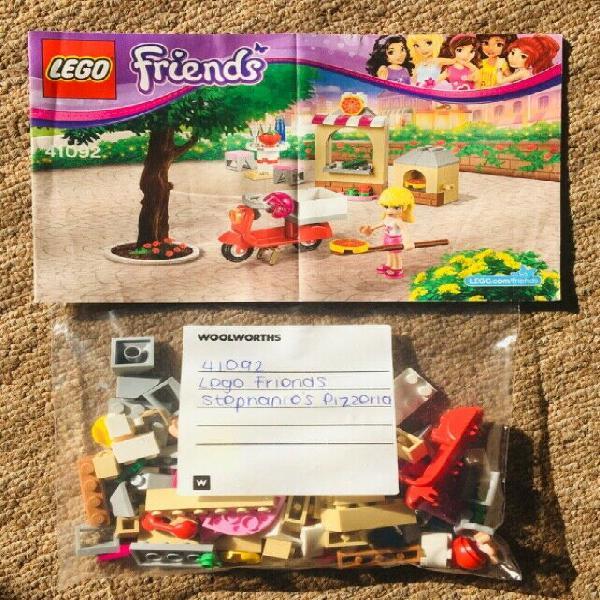 Lego friends set: 41092 stephanie's pizzeria for sale in
