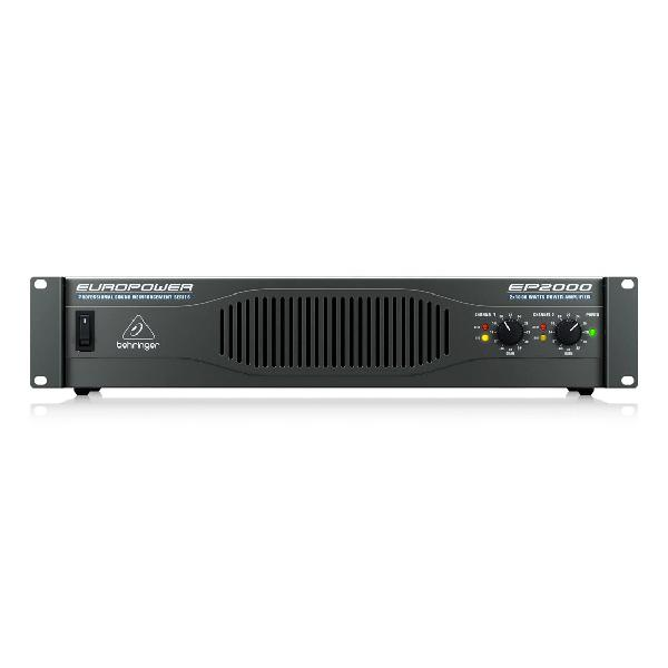 Behringer europower ep2000 stereo power amplifier (750w @
